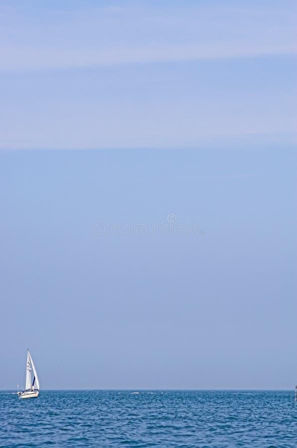 Download Sailing stock image. Image of sail, vastness, yacht, waves - 154077