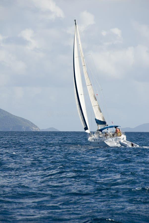 sailing стоковая фотография