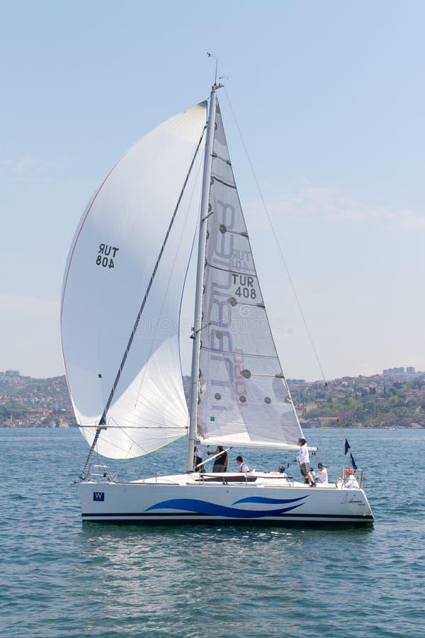 sailing 2011 чашки собрания bosphorus w стоковые фото