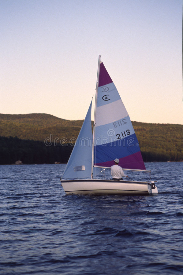 sailing стоковое изображение