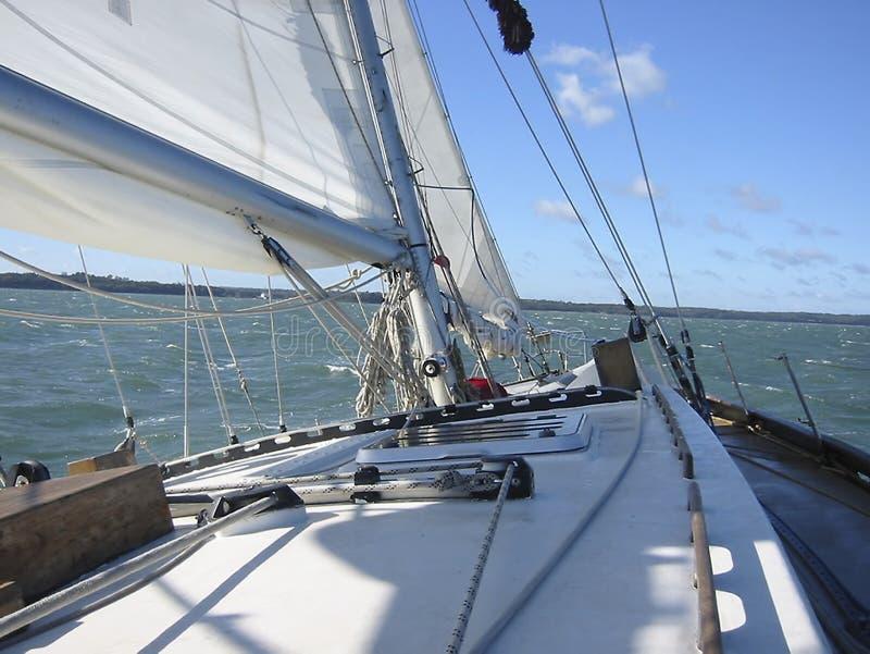 Sailing 4. Part of a sailing boat