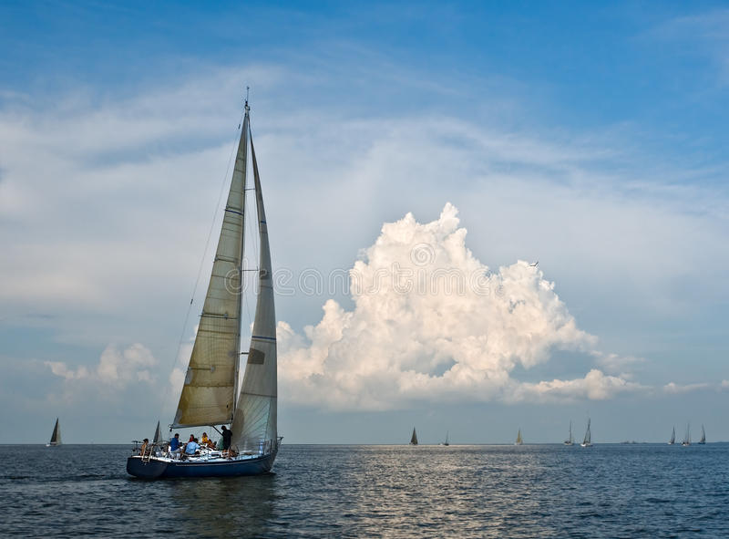 Sailing stock photography