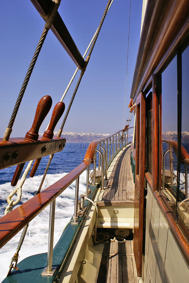 Download Sailing In The Aegean Sea Royalty Free Stock Images - Image: 22072449