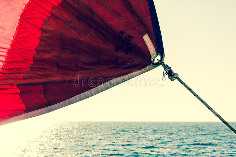 Sailing away from home royalty free stock images