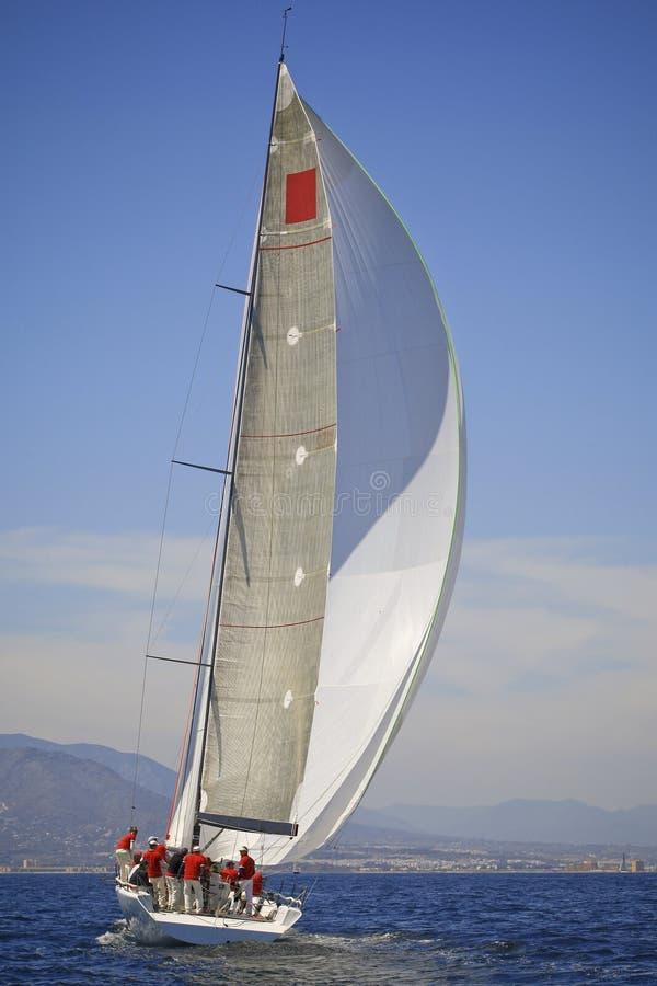 Sailing away royalty free stock images