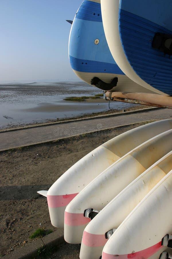 Sailing Boards stock photo