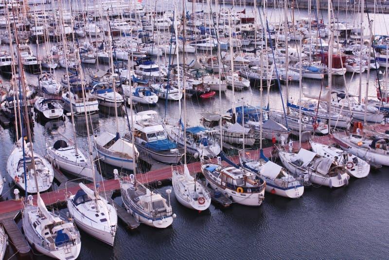 Sailing boat royalty free stock photos