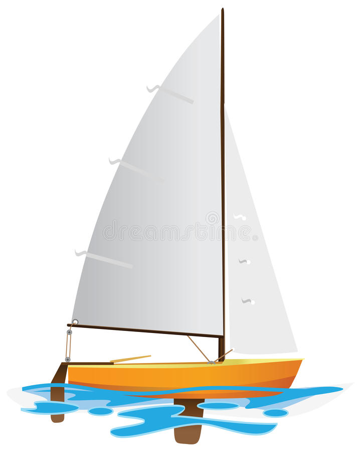 Free Sailing Boat Royalty Free Stock Photo - 14856555