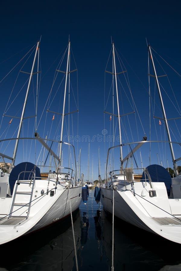 Download Sailing boat stock image. Image of floating, lifesaver - 1708767