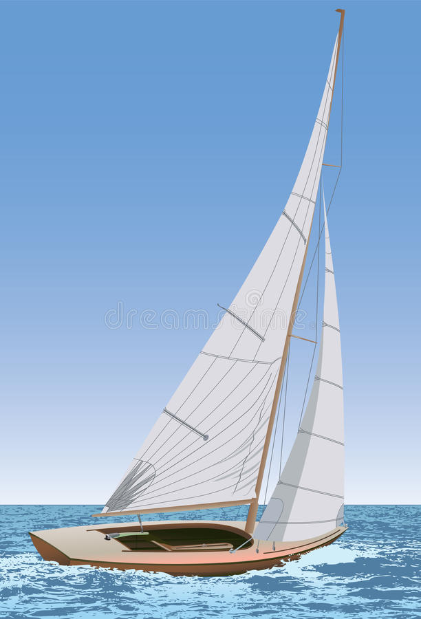 Free Sailing Boat Stock Images - 17959524
