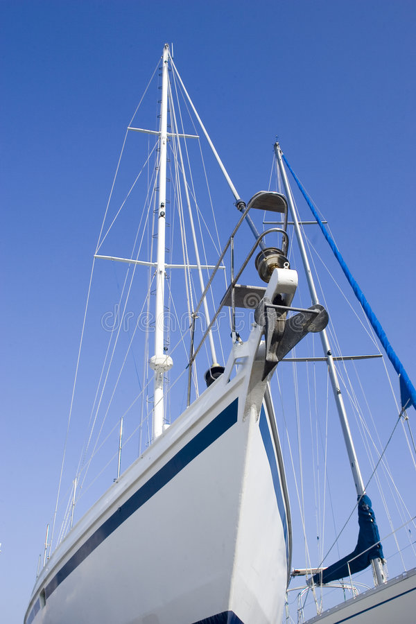 Download Sailing boat stock photo. Image of foredeck, elements - 1874272