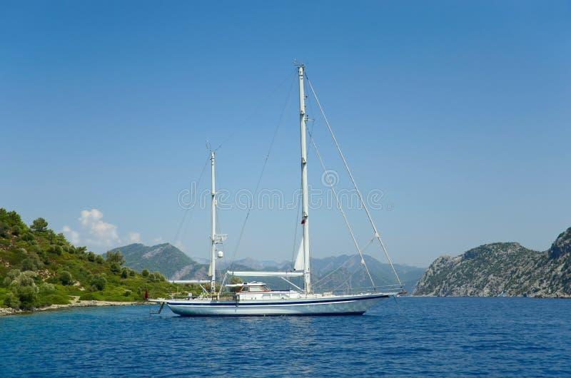 Download Sailing boat stock image. Image of sport, sailboat, greek - 26362827