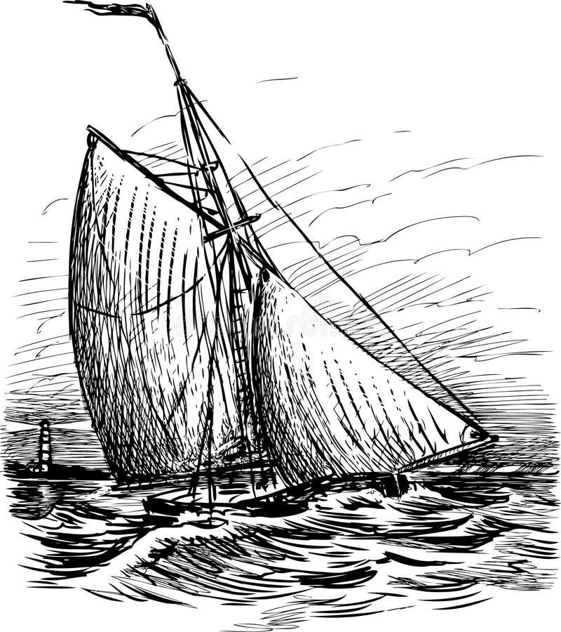 Free Sailing Boat Royalty Free Stock Photo - 28430915