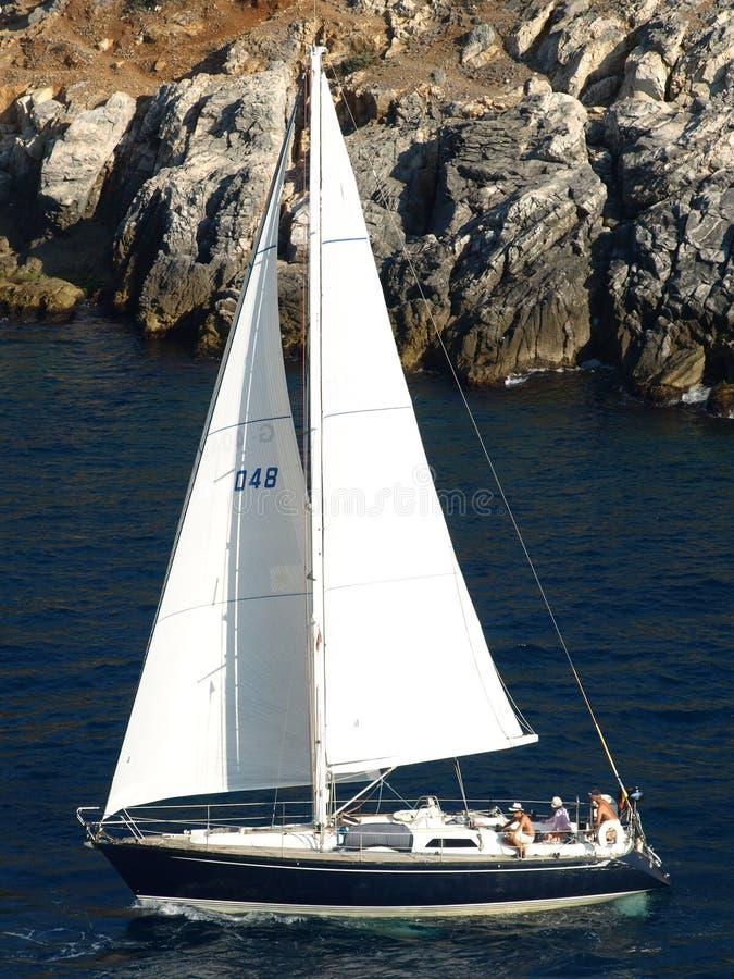 Free Sailing Boat Royalty Free Stock Photos - 5981488