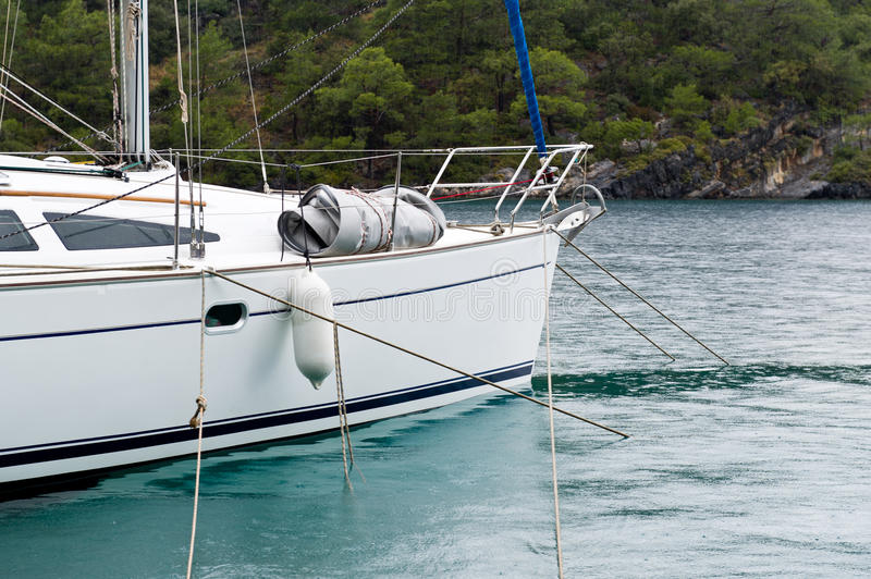 Download Sailing boat stock photo. Image of marine, sailboat, mast - 43077388