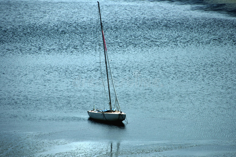 Sailing boat at rest