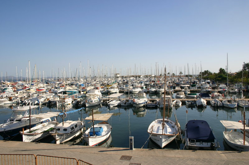 Download Sailing Boats stock photo. Image of harbour, colors, vacation - 18570