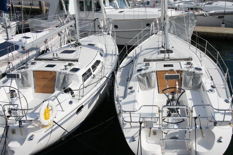 Sailing boats stock photo