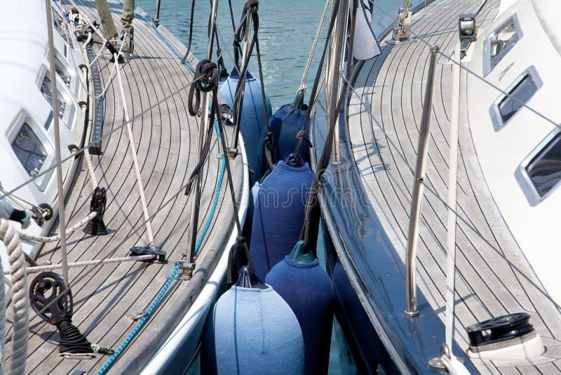 Download Sailing boats aligned stock image. Image of sail, windows - 25195669