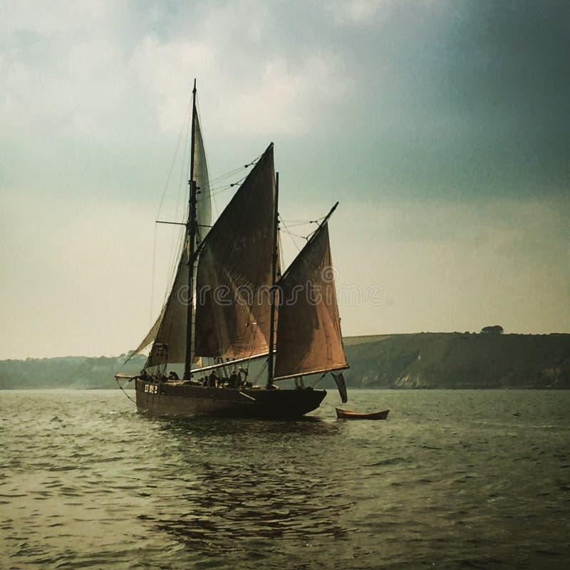 Sailing days stock photos