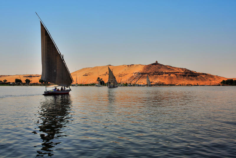 sailing faluca шлюпки стоковое изображение rf