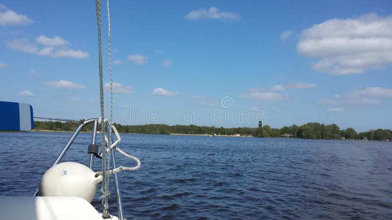 Sailing.. royalty free stock photos