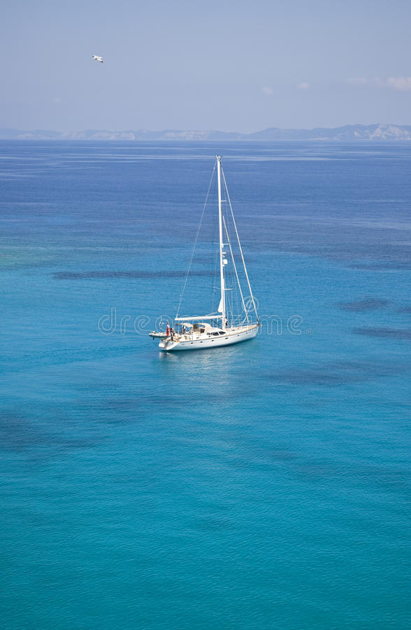 Download Sailing in greece stock photo. Image of caucasian, sailing - 15024492