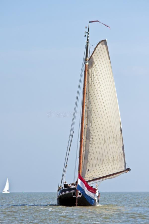 sailing ijsselmeer нидерландский стоковые изображения