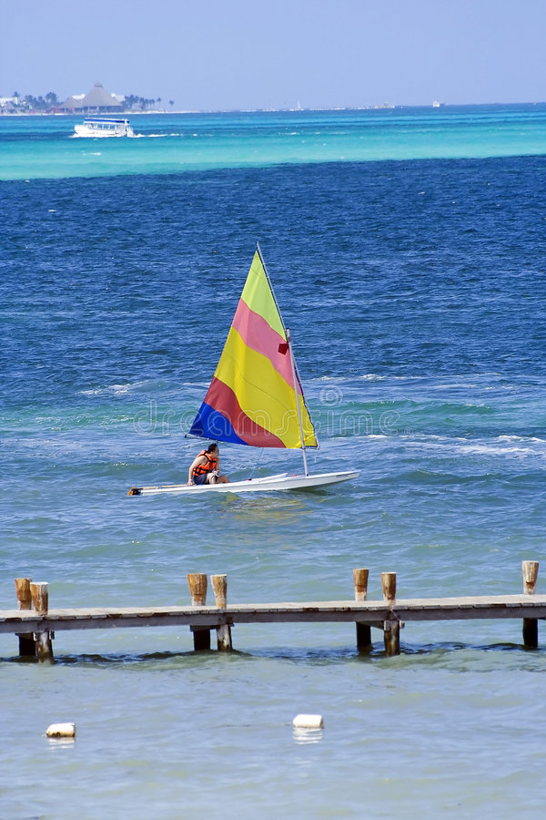 Free Sailing In The Caribbean Royalty Free Stock Photography - 5950507