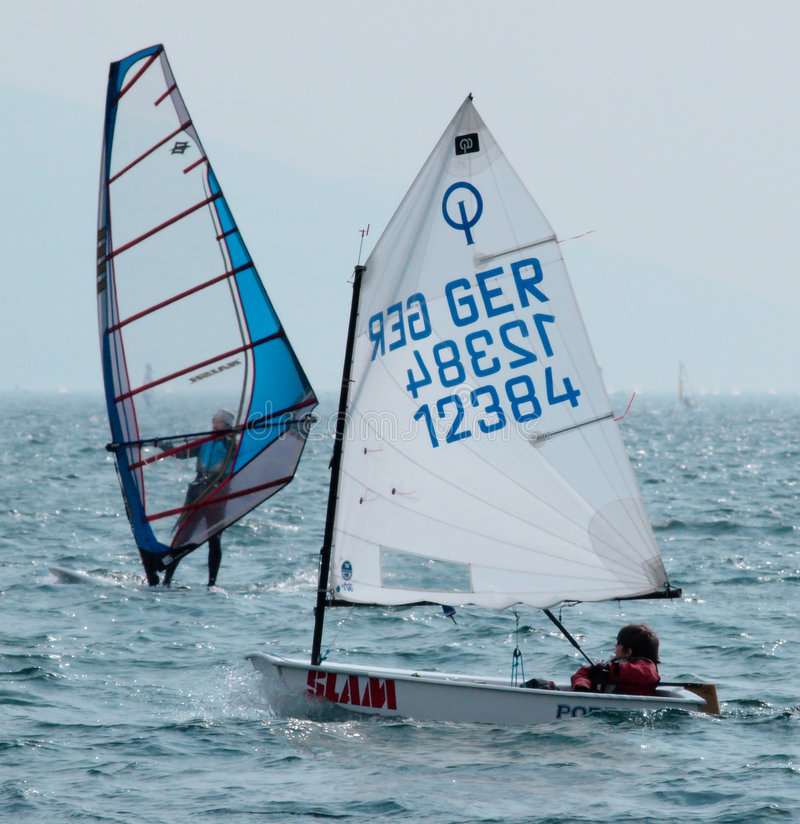 Download Sailing - Optimist Class Editorial Stock Image - Image: 8945519