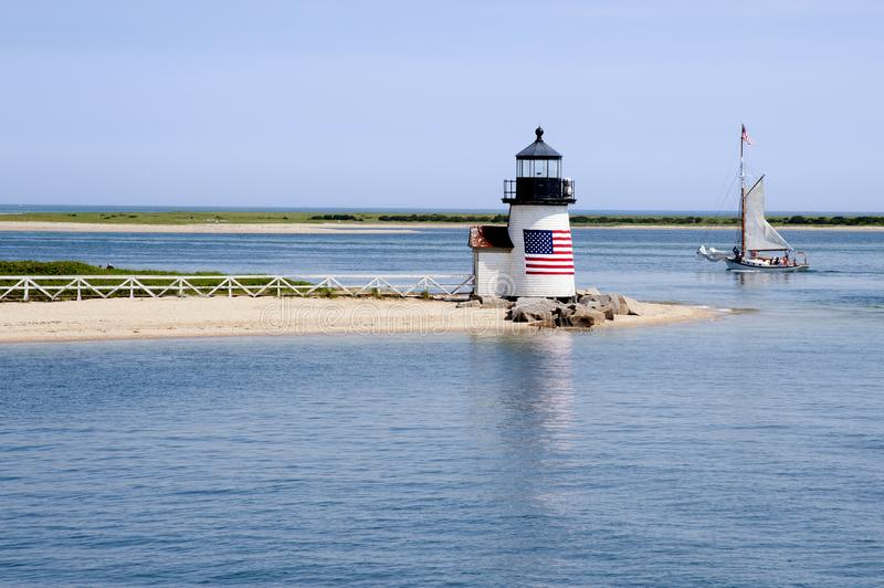 "MA /""Brant Point Lighthouse/"" Photo 2000s Nantucket"