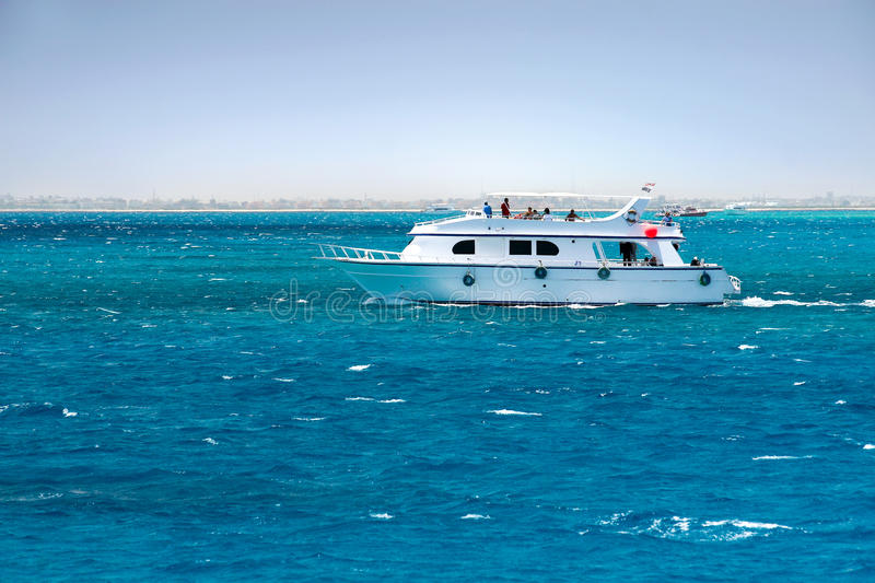 Sailing Red Sea stock photography