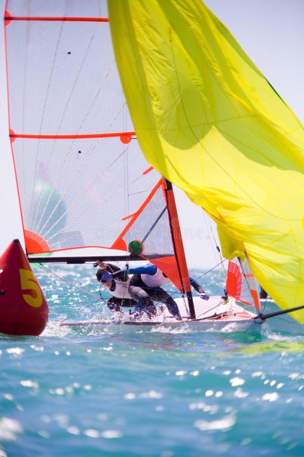 Sailing regatta royalty free stock images