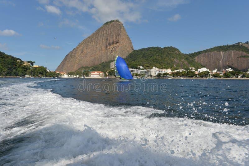 Sailing Regatta. International Sailing Regatta 2015, preparative event for the 2016 Olympics royalty free stock photography