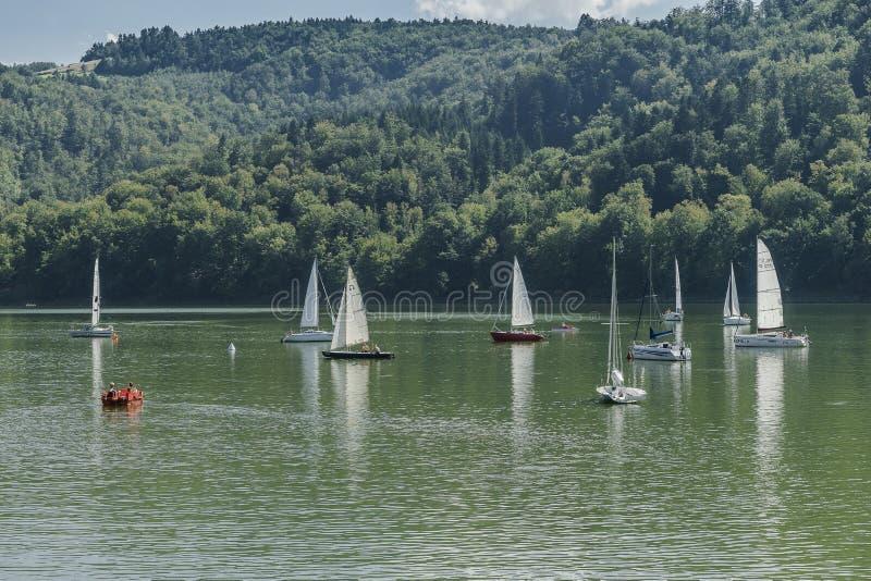 Sailing Regatta stock photography