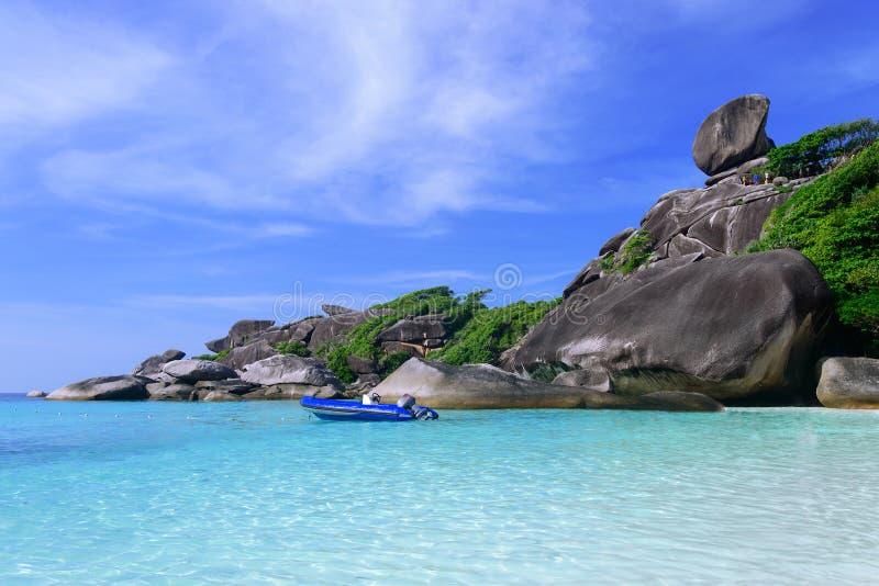 Sail Rock, Similan Island, Thailand Stock Image