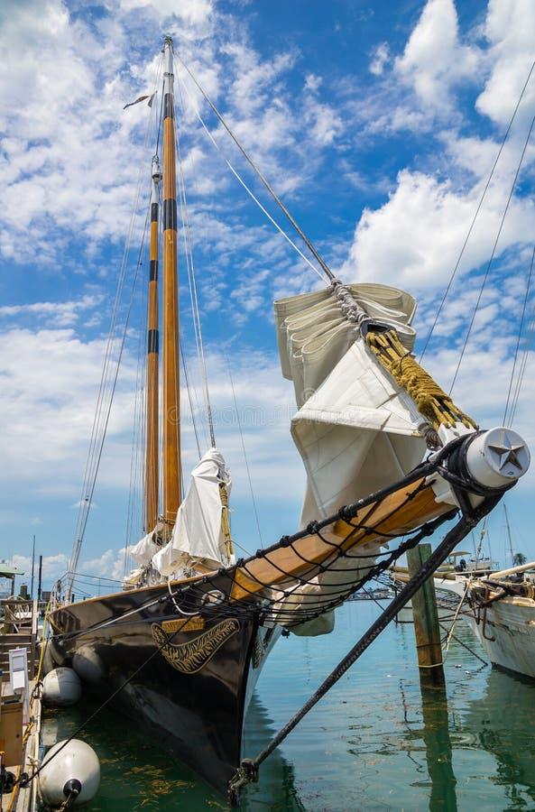 Sailing Schooner America 2 Key West Florida stock photo
