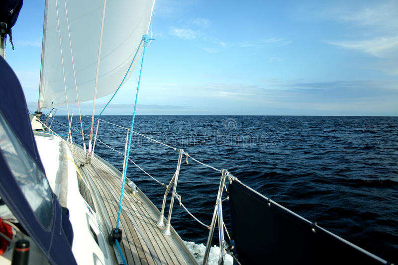 Sailing The Seas Royalty Free Stock Images