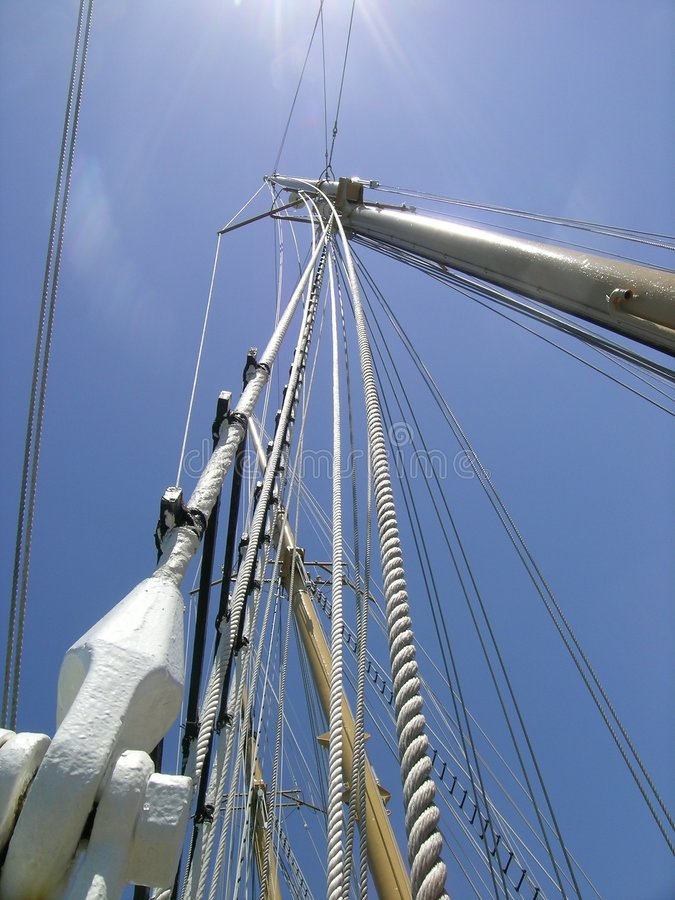 Sailing-ship royalty free stock photos