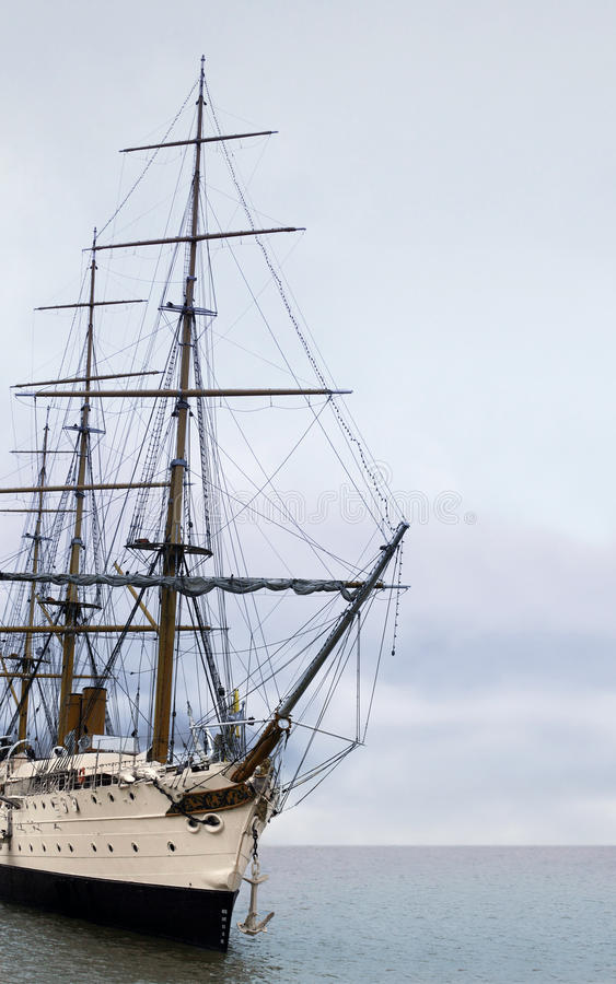 Download Sailing ship stock photo. Image of cruise, pirate, front - 9549428