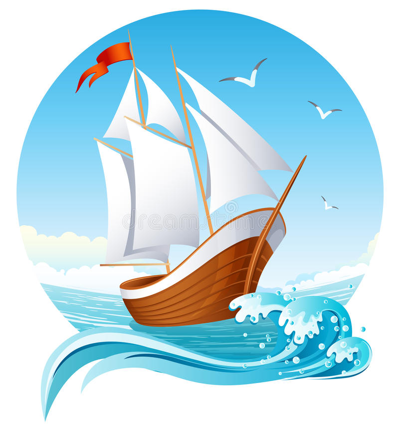 Free Sailing Ship Stock Photo - 9886290
