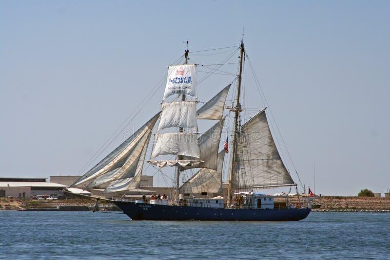 Download Sailing Ship Kaisei In San Diego Editorial Stock Photo - Image: 6191853
