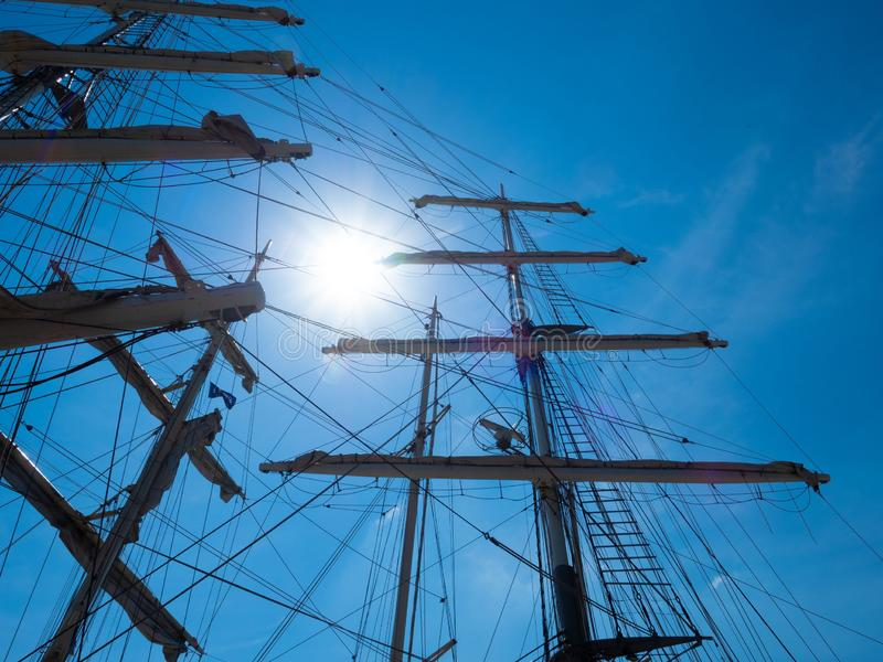Sailing Ship, Sky, Tall Ship, Mast Free Public Domain Cc0 Image