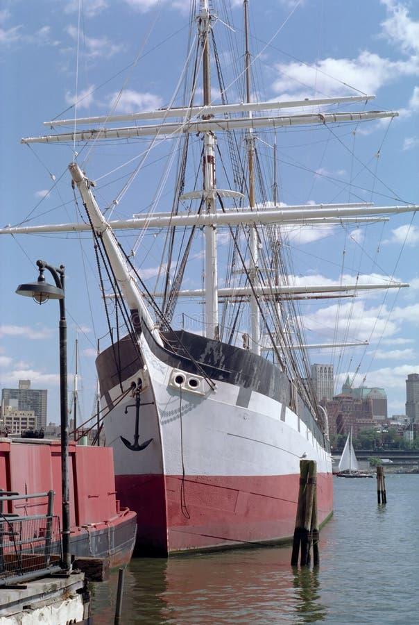 The Sailing Ship Wavertree New York USA royalty free stock images
