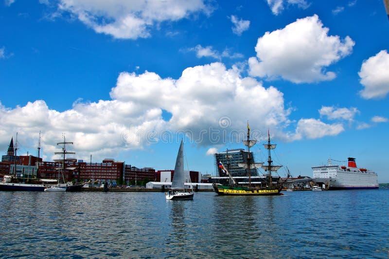 Download Sailing Ships And Cruise Liner Stock Photo - Image of sail, boat: 14923064
