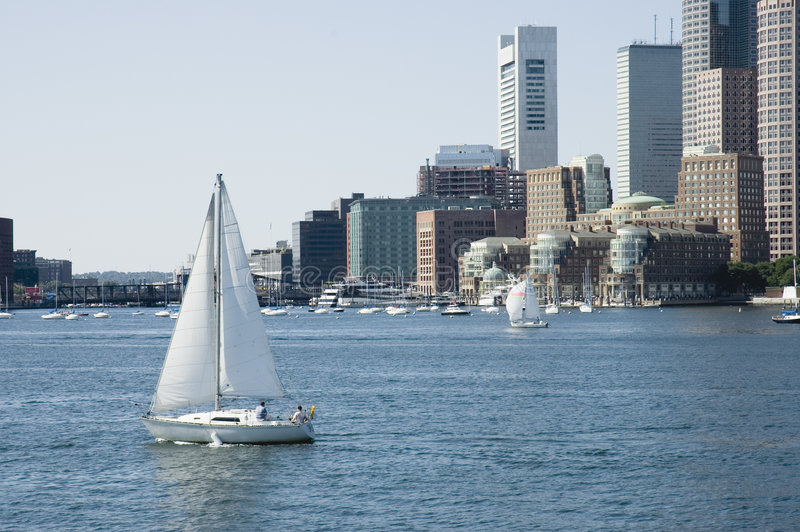 Download Sailing On St Charles River Stock Image - Image: 318817
