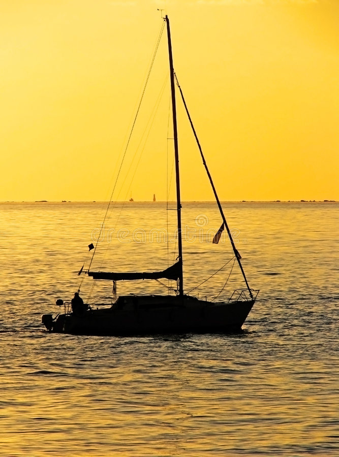 Download Sailing At Sunset 2 Royalty Free Stock Photo - Image: 6189995
