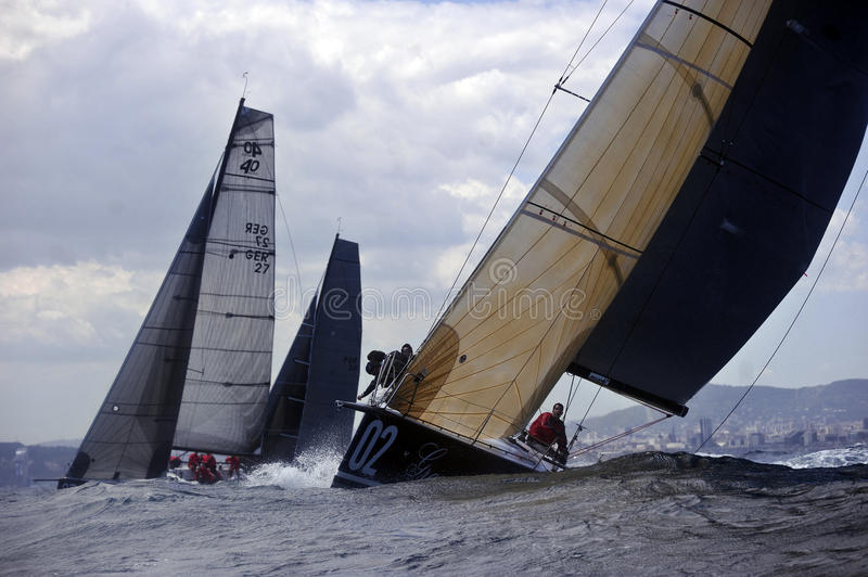 40º Sailing Trophy Conde de Godo royalty free stock photography