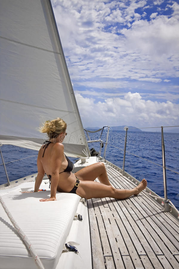 Sailing In The Tropics Royalty Free Stock Photography