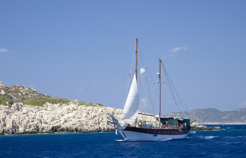 Download Sailing The Turquoise Coast Stock Photo - Image: 15936708